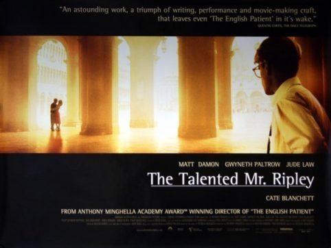 The talented mr ripley poster