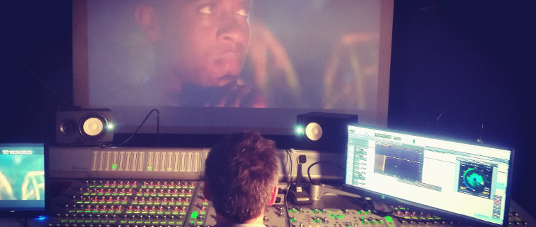 "Music Mixing ""Three Blades"", Olivier Militon"