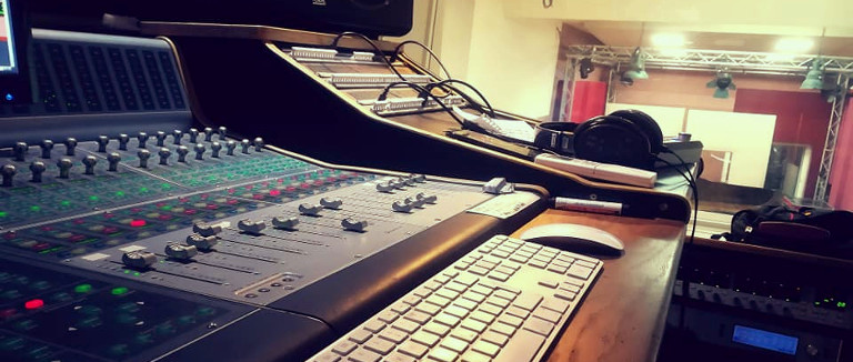 """Recording """"In a Whisper"""" Film Music at Sextan Studios Paris, Olivier Militon"""